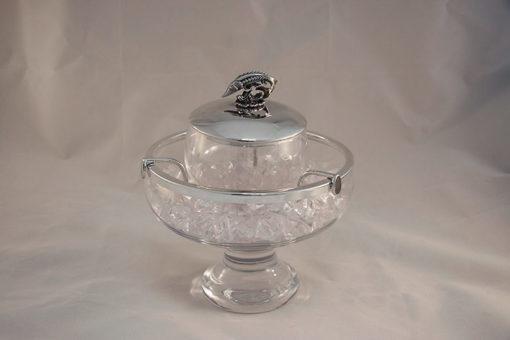 Kaviarschale Glas-235