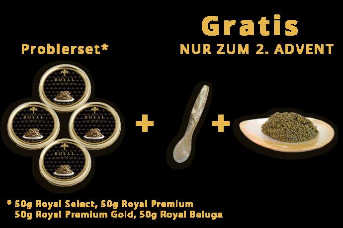 Unser Kaviar Probier-Set-0