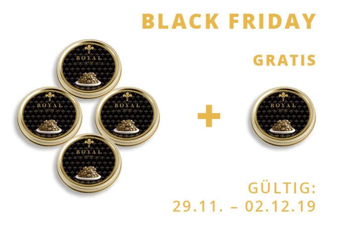 Schah Kaviar|5x125g Royal Premium Gold-0